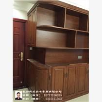 长沙别墅实木家具定制、实木博古架、橱柜订做网络销售