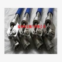 不銹鋼螺紋彈簧復位球閥DN15-50