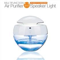 創意禮品空氣凈化器藍牙音響燈