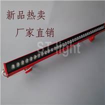 廠家直銷LED洗墻燈 36W紅色防水戶外LED線條燈
