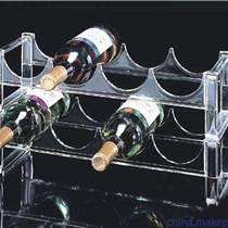 郑州规格:郑州亚克力红酒展示架