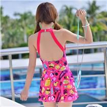 女士 鋼托  時尚泳衣