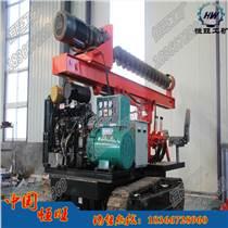 履帶式光伏打樁機 工程打樁機  液壓打樁機  濟寧恒旺工礦