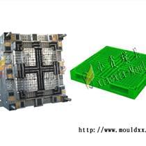 青島1米4塑料倉墊板模具 大型1米6塑膠叉車棧板模具塑料模具廠