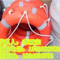 规定高度投落无开裂破碎的充气式救生圈防汛救生圈