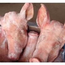 冷凍豬頭批發