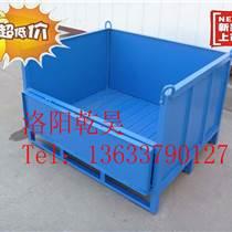 洛陽乾昊大量批發金屬料箱 鋼制板式固定式料箱 做工精湛 品質優