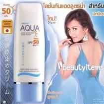泰國正品mistine美白防曬霜 面部身體防曬乳SPF50 清爽防水不油膩