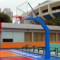地埋方管篮球架 体育用品供应