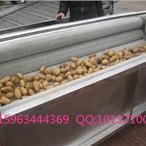 大姜清洗機 毛輥清洗機 土豆清洗機去皮機