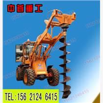 植樹鉆坑機全自動打坑機電線桿鉆坑機