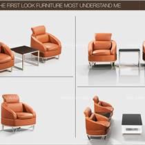 首望現代簡約辦公沙發 高檔商務接待會客休閑真皮沙發辦公室家具