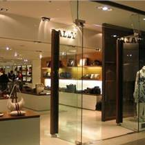 廣州店鋪鋼化玻璃門定做安裝廠家批發