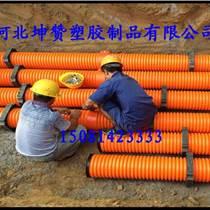 坤赞塑胶_钢带排污管_钢带排污管价格