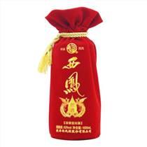 厂家专业定做绒布酒袋|定做绒布酒袋|【河南千一包装】(多图)