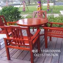 戶外木質桌椅,廣場休閑桌椅