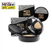 泰国正品Mistine Maya 玛雅气垫CC霜粉饼BB定妆防晒遮瑕亮白控油