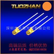 發光二極管F5黃發黃單孔LED燈珠帶燈座