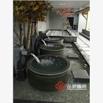 温泉度假村单人洗澡泡澡大缸 流水净身洗浴青瓷瓦台陶瓷大缸