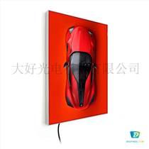 30單面卡布燈箱拉布燈箱led廣告鋁框燈箱