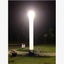 快速充氣式照明燈柱