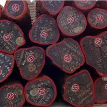 出售進口非洲紫檀木原木
