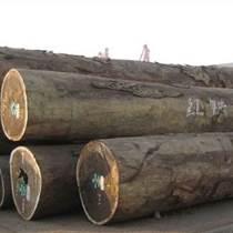 出售進口紅鐵木原木