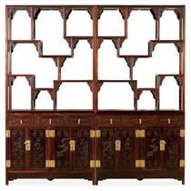 多宝格,书柜,北京家家红,红酸枝多宝格,书柜定做