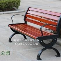 園林戶外座椅,小區靠背椅,公園實木椅