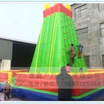 廠家直銷充氣攀巖跳床充氣攀巖墻兒童游樂設施
