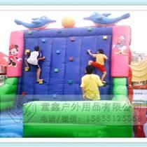 厂家直销充气玩具攀岩充气攀岩滑梯儿童广场游乐设备