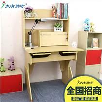 家用學生寫字桌實木可升降兒童學習桌