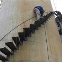 砖烟囱安装旋转钢梯平台价格