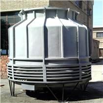 德州順澤DBNL3-100圓形逆流式玻璃鋼冷卻塔安裝