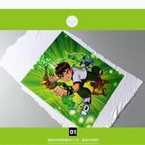 线下热销 个性T恤DIY热转印图案 卡通布热转印烫画 支持设计定做