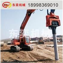 光伏樁鋼管樁預制樁拉森鋼板樁液壓振動打樁錘