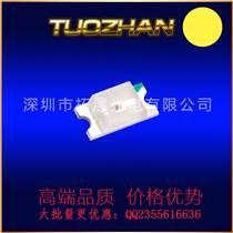 0805黃光貼片led發光管正面黃色燈珠