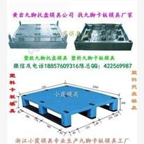 浙江黃巖模具廠 1.2米塑料叉車雙層倉墊板模具 1.2米塑料叉車川字倉墊板模具制造塑料模具