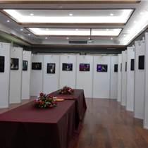 深圳八棱柱書畫展板 學校作品書法屏風宣傳展架制作
