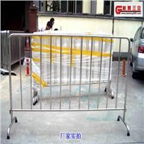 抗氧化 防腐蚀不锈钢护栏 施工铁马护栏