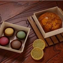 雪媚娘4粒裝 蛋黃酥盒 大福盒子 糯米糍盒烘培包裝盒透明吸塑木制
