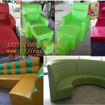 异型沙发定做,北京异型沙发,酒吧KTV咖啡厅商场不规则沙发定制-