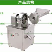 不锈钢水冷万能粉碎机,厂家批发中药材锤式粉碎机