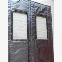 天津冬季透明窗口帆布棉门帘厂家