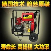 單缸4寸柴油污水泵