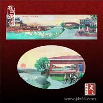 公司会议室背景墙 景德镇陶瓷壁画设计厂家