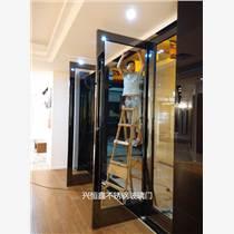 深圳玻璃門刷卡玻璃門酒店玻璃門