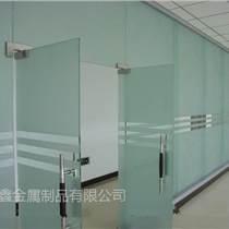 深圳興恒鑫玻璃門玻璃隔斷辦公室玻璃門供應總代直銷
