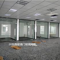 深圳興恒鑫玻璃門商場玻璃門酒店玻璃門制作加工維修價格實惠
