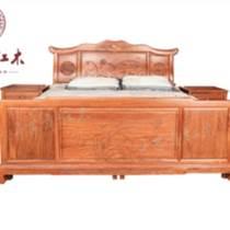 紅酸枝家具 古典1.8m山水大床